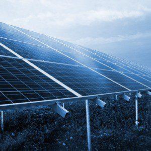 Paneles de generación de energía solar