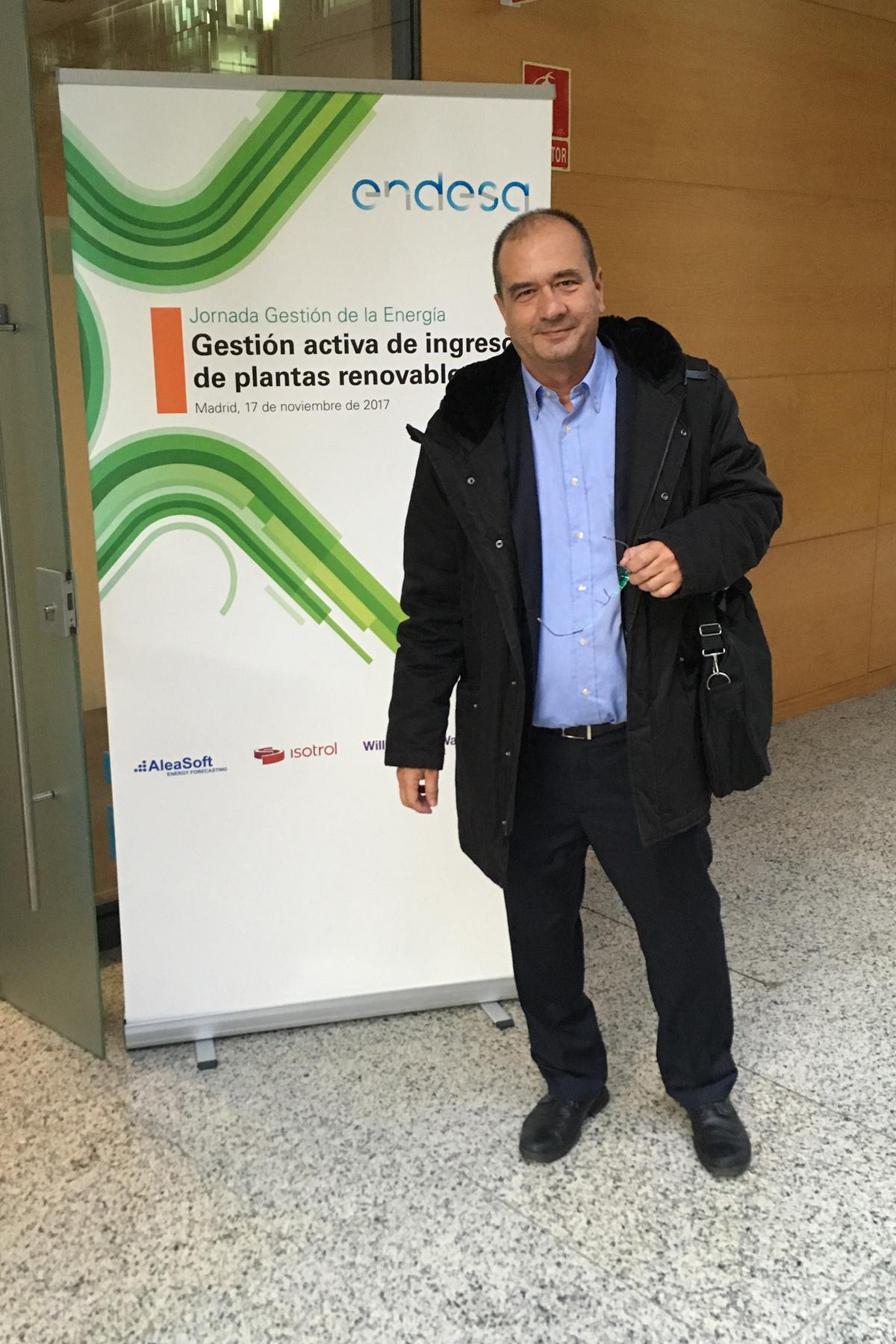 AleaSoft Energy Forecasting Endesa conference