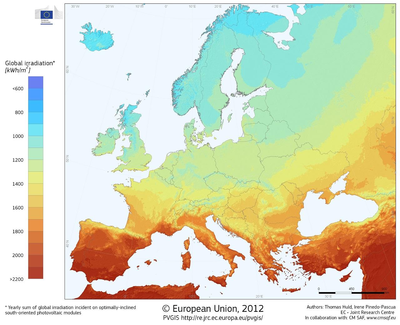 AleaSoft - Energía fotovoltaica en Europa