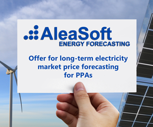 Long term forecast offer for PPA