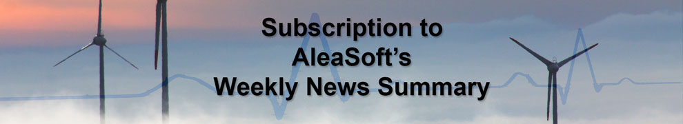 Subscription to AleaSoft