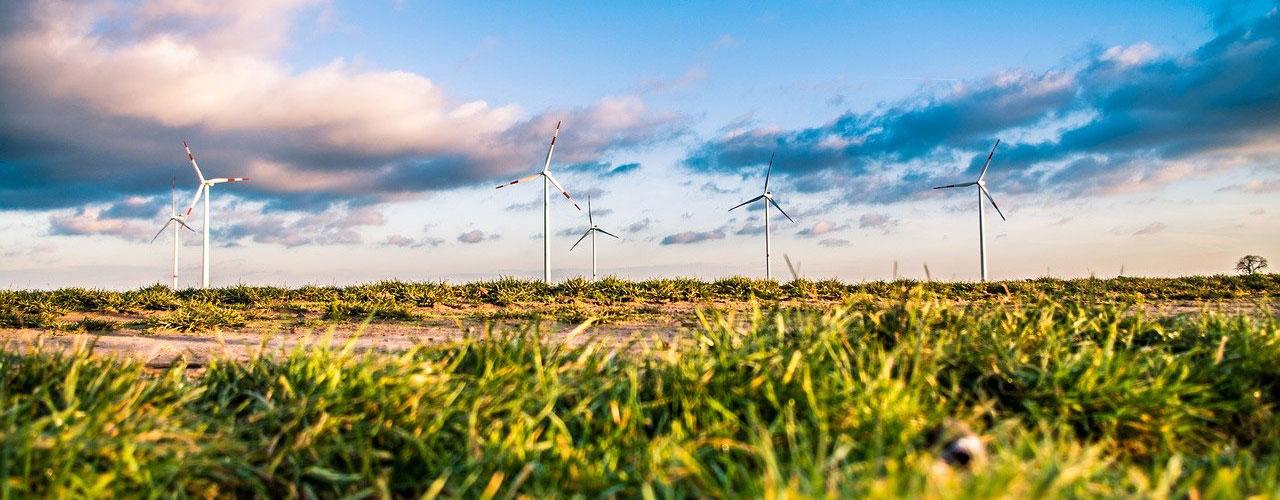 Molinos eólica renovable