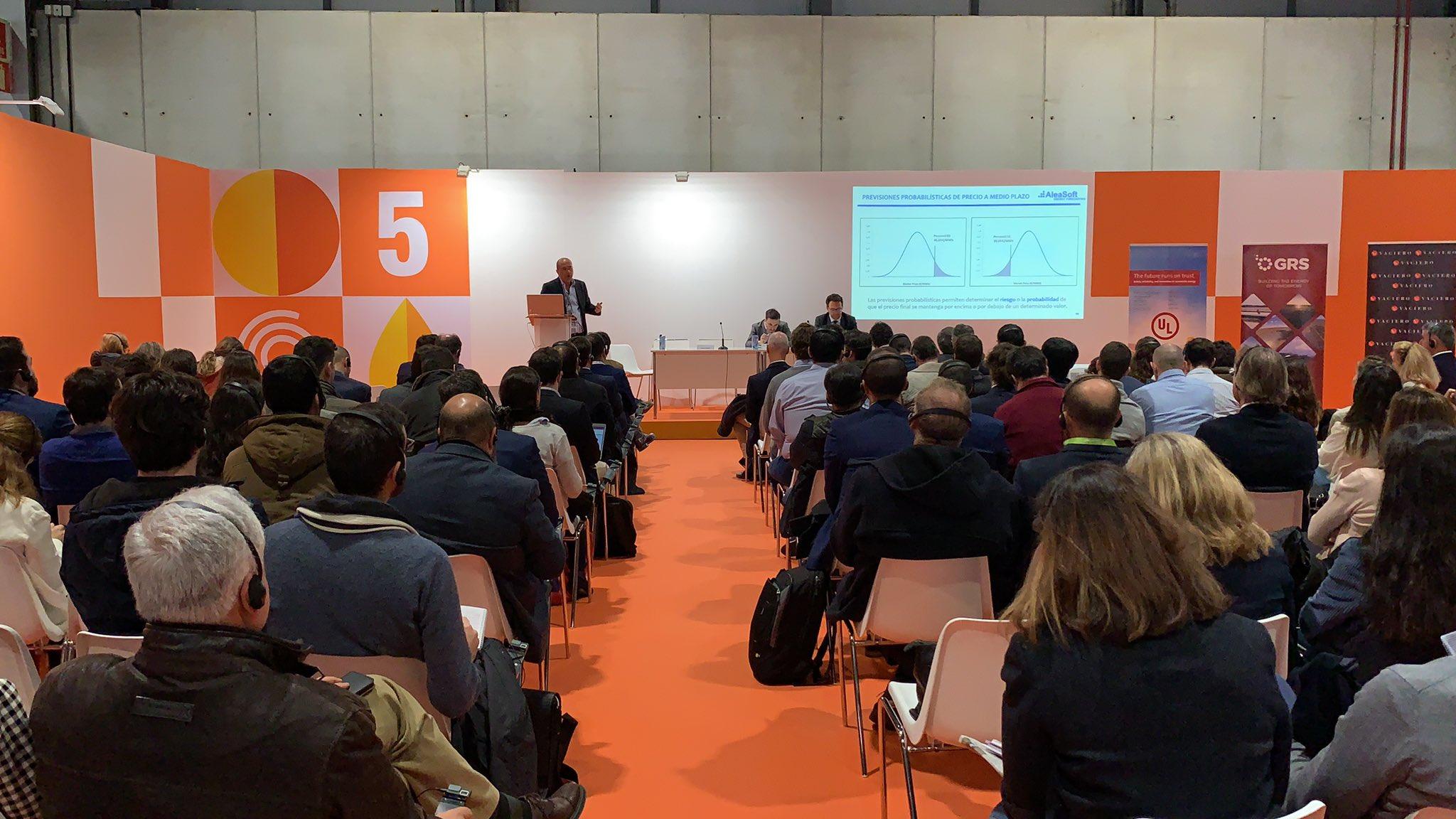 AleaSoft - Antonio Delgado GENERA UNEF photovoltaic project finance power market price forecasting