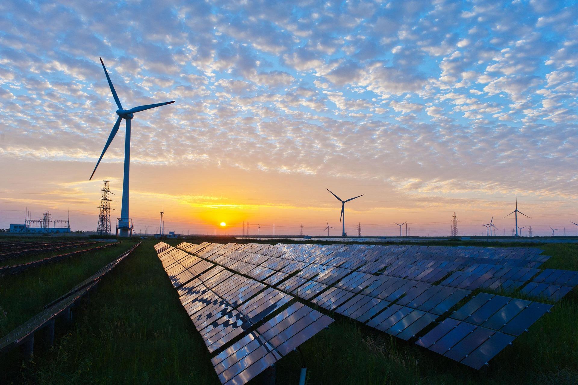 AleaSoft - renovables paneles solares molinos viento
