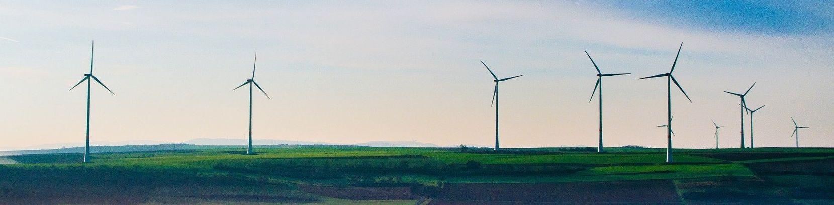 AleaSoft - wind energy turbines park