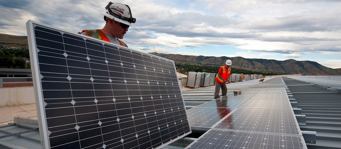 AleaSoft - solar photovoltaic panel installation