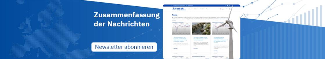 Abonnement der wöchentlichen News-Zusammenfassung von AleaSoft