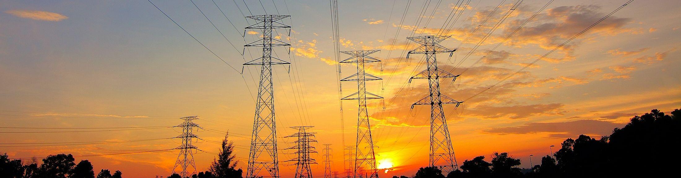 AleaSoft - Power lines electricity