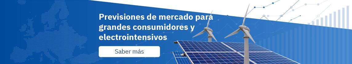 Previsiones de mercado para grandes consumidores y electrointensivos