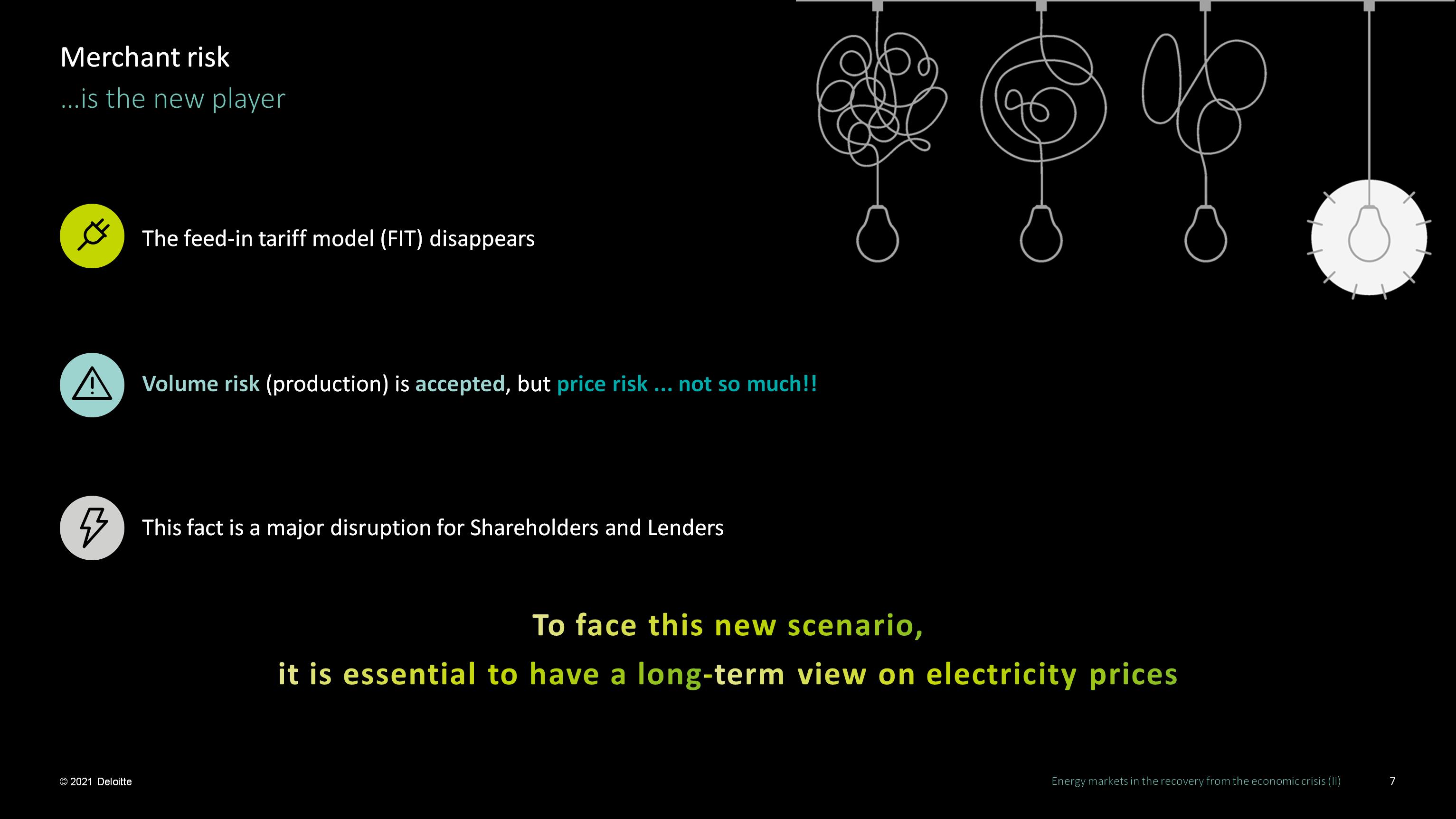 AleaSoft - Deloitte Vision futuro precios mercado electrico